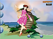 Summer Fairy Dressup game