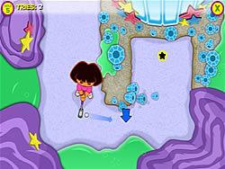 Dora's Star Mountain Mini-Golf game