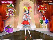 Billy Clown Girl Dressup