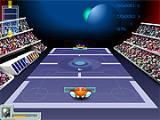 Galactic Tennis game