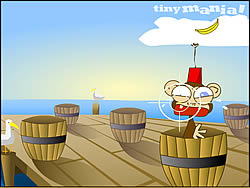 Barrels of Monkeys game