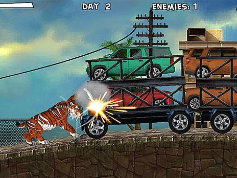 Smilodon Rampage game