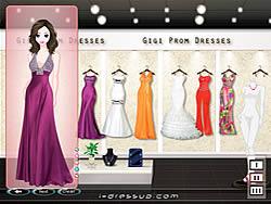 Gigi Prom Dressup game