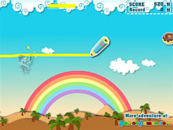 Make Happy Umbrella Man game