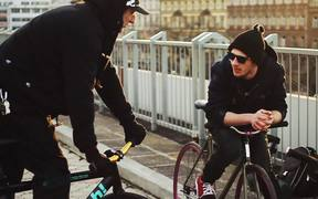 Watch free video Garage Race Praha 19.3.2011 by Funbikes