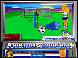 Football Shootout game