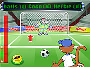 Juega al juego gratis Coco Penalty Shoot-out