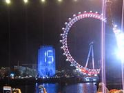 Watch free video London New Year's Eve – Start of Fireworks