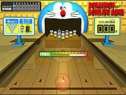Juega al juego gratis Doraemon Bowling