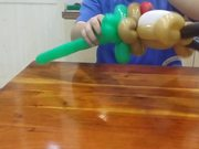 Watch free video Balloon Modeling - Elk 3/3