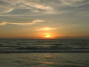 Watch free video A Florida Beach Sunset