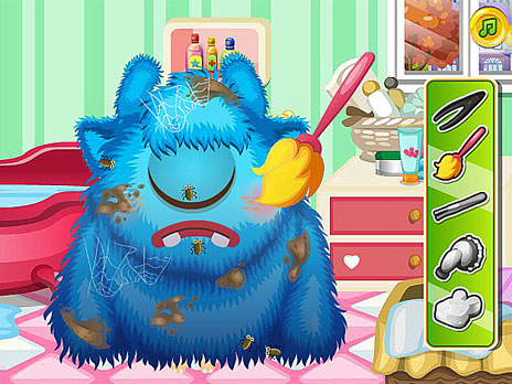 Under Bed Monster Care game