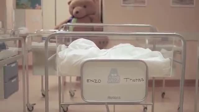 Watch free video Huggies Commercial: My First Friend