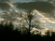 Watch free video Sunset Clouds in Time Lapse