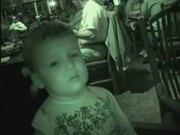 Watch free video Sleepy Boy in Restaurant