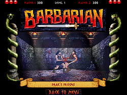 The Barbarian game