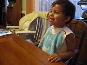 Watch free video Kid Repets for Mom