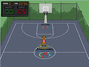 Juega al juego gratis Spalding Shoot Out