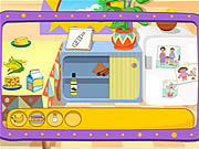 Dora's Cooking in La Cucinaゲーム
