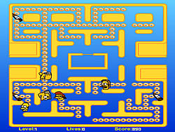 Simpsons Pacman game