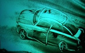 Watch free video KiWi Sand Art Jaguar @ 2010