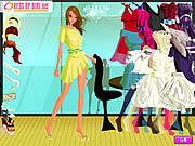 Meeting Friends Dressup game