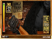 Juega al juego gratis The Gorilla Tough Arm Challenge
