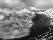 Eruption Of Mt. Etna 1951