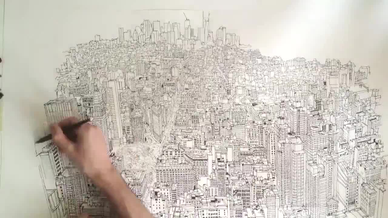 Mira dibujos animados gratis Patrick Vale Video: Empire State of Pen