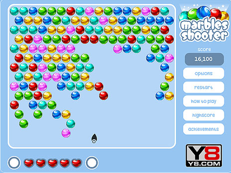 Marbles Shooter game
