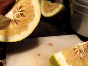 Time Lapse Cutting a Grapefruit