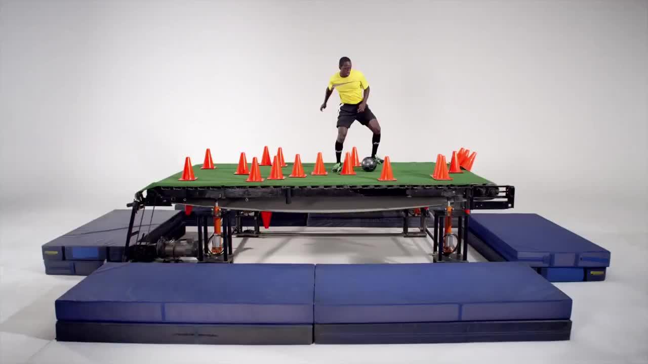 Watch free video Asics Commercial: Urban Treadmill