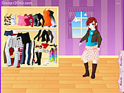 Dolly Dressup game