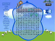 Juega al juego gratis Word Search Gameplay 1 - Asia