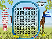 Juega al juego gratis Word Search Animal Scramble Gameplay 2
