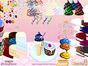 Juega al juego gratis Super Dooper Dessert Deluxe