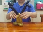 Watch free video Balloon Modeling - Elk 2/3