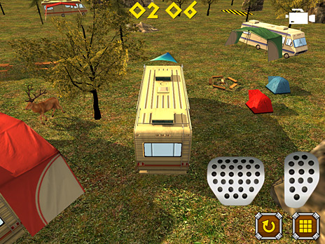 Camper Van Parking 3D game