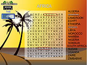 Juega al juego gratis Word Search Gameplay 5 - Africa