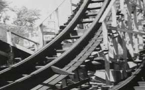 Watch free video Coney Island - 1940s - Roller Coaster