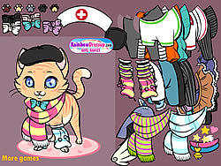 Meow Meow Dressup game