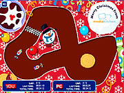Santa Racers game