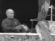 Watch free video Mussolini Addressing Huge Crowd In Rome