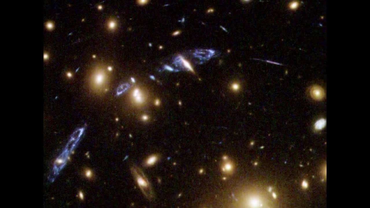 Watch free video Hubble Finds Ring of Dark Matter-3
