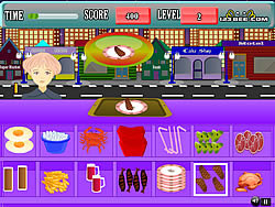 Fast Food Center game