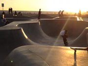 Watch free video 3 Year Old Kid Rides at Venice Skate Park