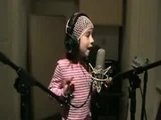 Watch free video Cute Kid Sings