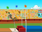Wile E. Cayote's Pole Vault Challenge