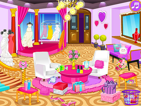 Clean up Wedding Salon game