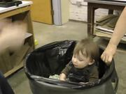 Watch free video Funny Video About Kid in a Bucket